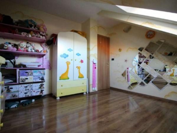 Villetta a schiera in vendita a Alpignano, Belvedere, Con giardino, 250 mq - Foto 14