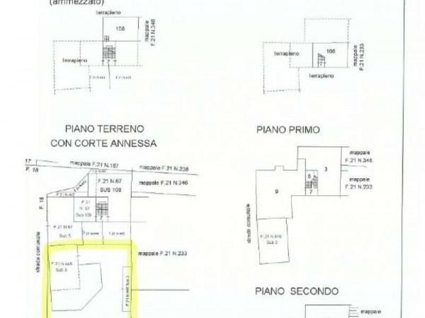 Rustico/Casale in vendita a Caselette, Semi-centrale, Con giardino, 108 mq - Foto 3