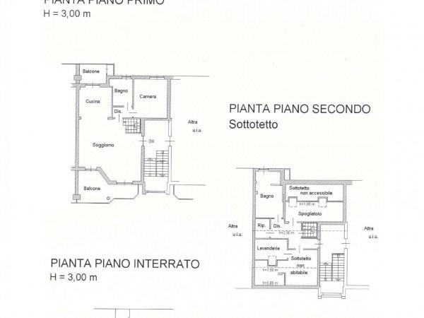 Appartamento in vendita a Pianezza, Parucco, 150 mq - Foto 3