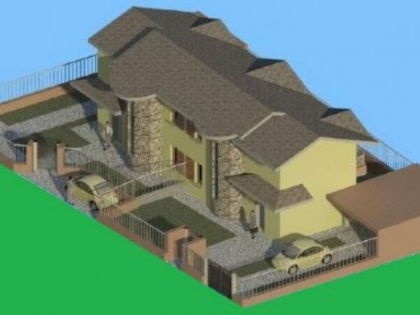 Villa in vendita a Cardano al Campo, Centrale, 150 mq