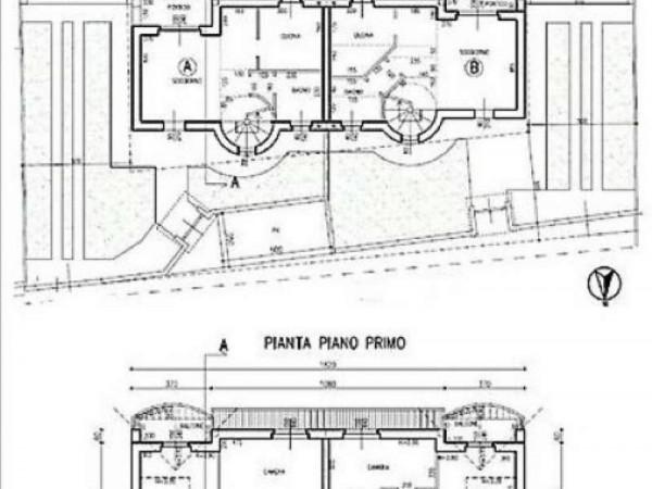 Villa in vendita a Cardano al Campo, Centrale, 150 mq - Foto 3