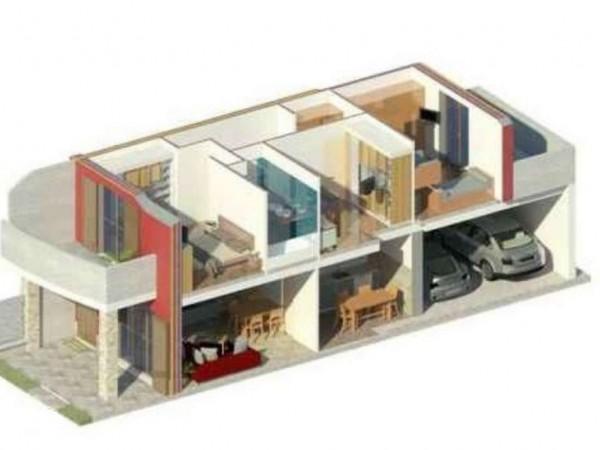Villa in vendita a Gorla Maggiore, Centrale, 160 mq - Foto 4