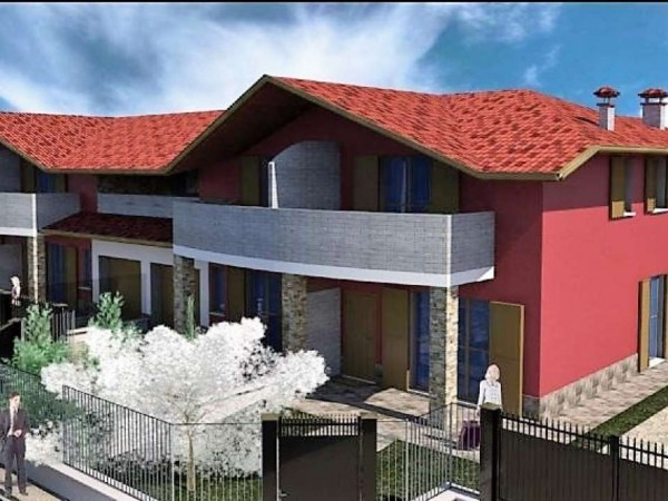 Villa in vendita a Gorla Maggiore, Centrale, 160 mq - Foto 1