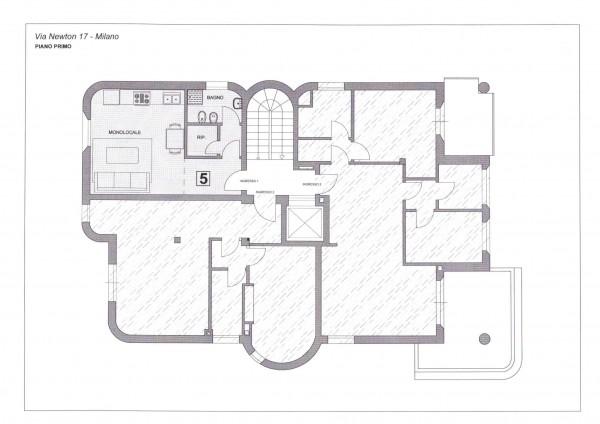 Appartamento in vendita a Milano, San Siro, Con giardino, 41 mq - Foto 2