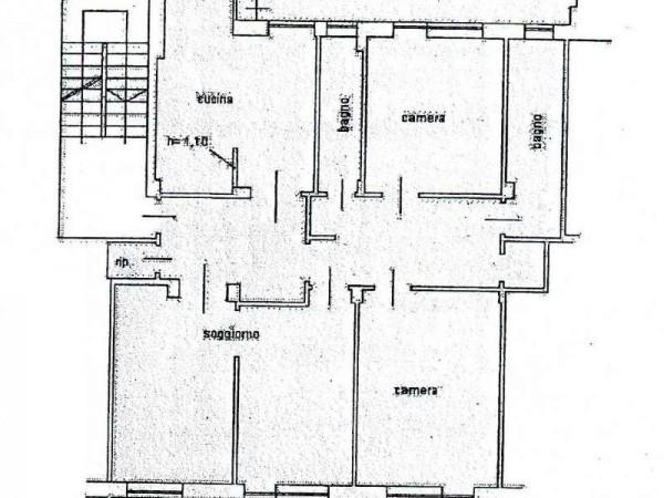 Appartamento in vendita a Torino, Santa Rita, 145 mq - Foto 2