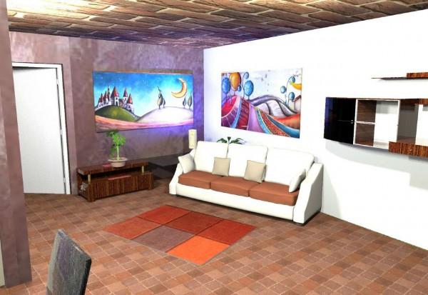 Appartamento in vendita a Candiolo, Centro, Con giardino, 100 mq - Foto 9