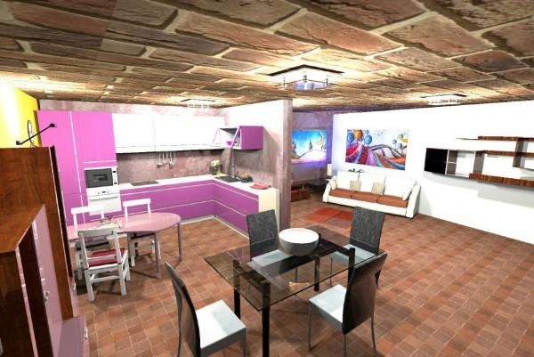 Appartamento in vendita a Candiolo, Centro, Con giardino, 100 mq