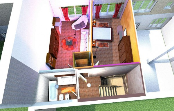 Appartamento in vendita a Candiolo, Centro, Con giardino, 100 mq - Foto 8