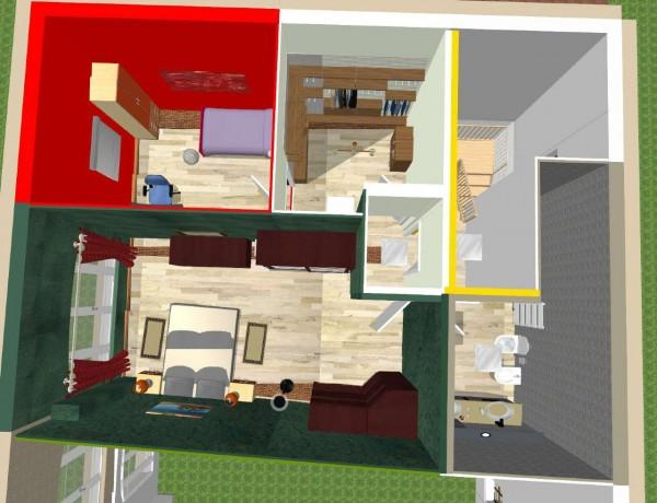 Appartamento in vendita a Candiolo, Centro, Con giardino, 100 mq - Foto 2