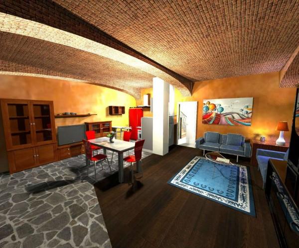 Appartamento in vendita a Candiolo, Centro, Con giardino, 100 mq - Foto 6