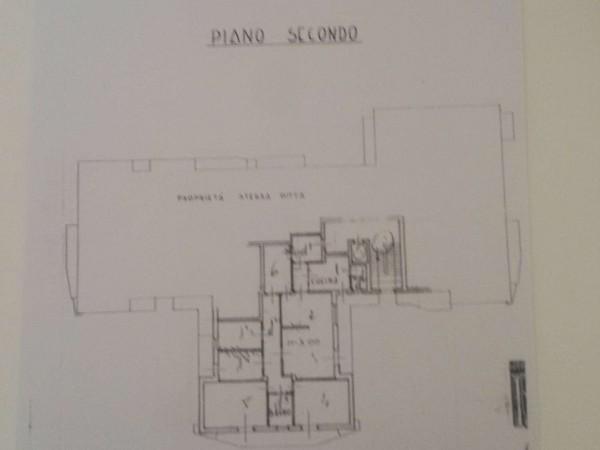 Appartamento in vendita a Brescia, Xxv Aprile, 150 mq - Foto 2