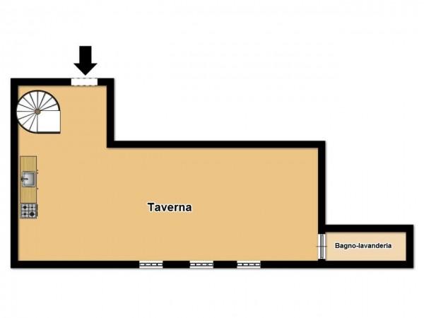 Appartamento in vendita a Brescia, Urago, Con giardino, 190 mq - Foto 3