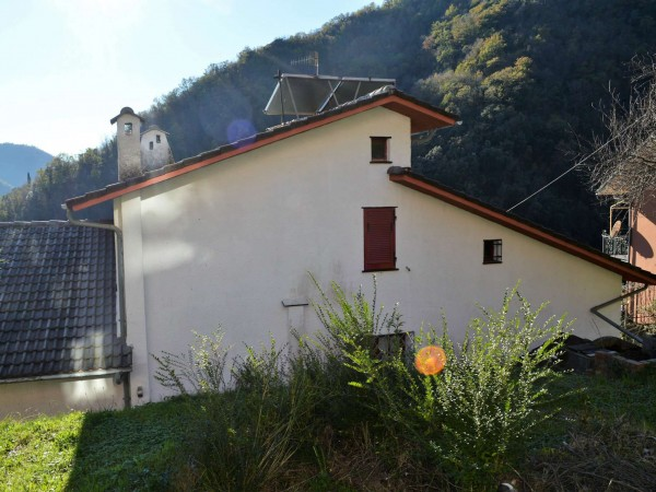 Villa in vendita a Avegno, Salto, Con giardino, 205 mq - Foto 46