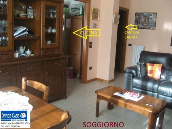 Appartamento in vendita a Nova Milanese, Con giardino, 110 mq - Foto 10