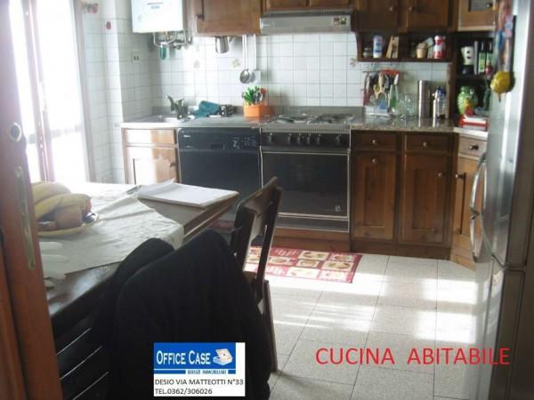 Appartamento in vendita a Nova Milanese, Con giardino, 110 mq - Foto 9