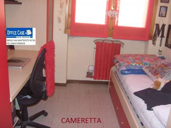 Appartamento in vendita a Nova Milanese, Con giardino, 110 mq - Foto 6