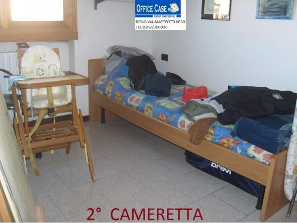 Appartamento in vendita a Nova Milanese, Con giardino, 110 mq - Foto 5