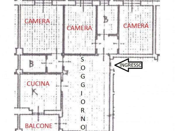 Appartamento in vendita a Nova Milanese, Con giardino, 110 mq - Foto 3