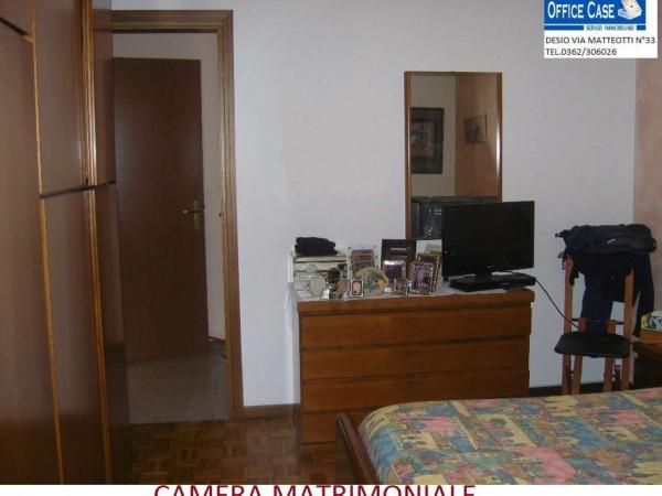 Appartamento in vendita a Nova Milanese, Con giardino, 110 mq - Foto 8