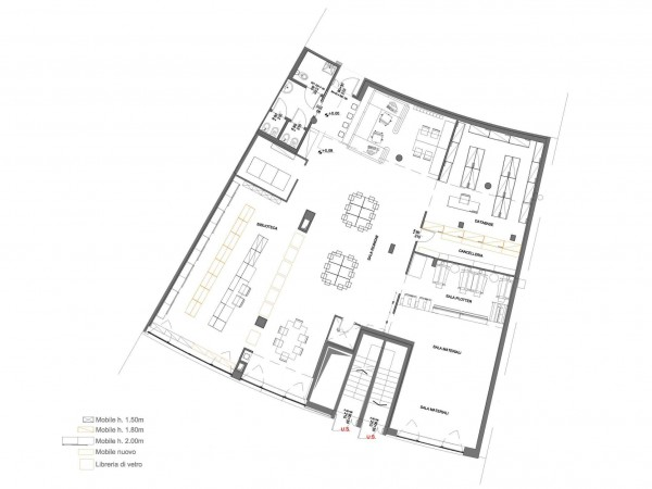 Ufficio in vendita a Milano, Portello / Accursio, 1500 mq - Foto 11