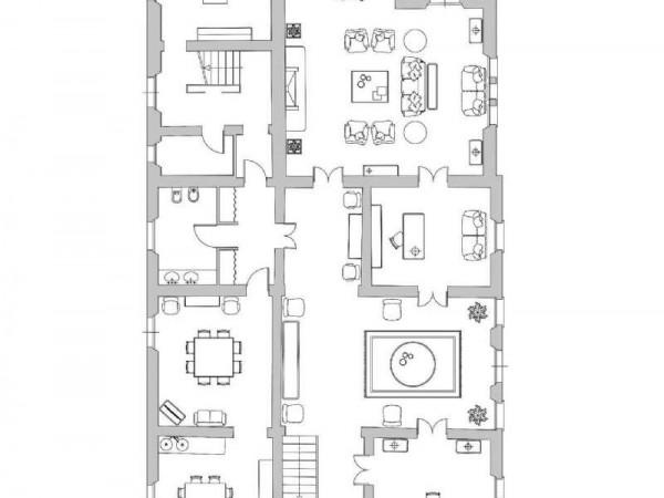 Villa in vendita a Casciana Terme Lari, Arredato, 1000 mq - Foto 4