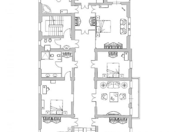 Villa in vendita a Casciana Terme Lari, Arredato, 1000 mq - Foto 3