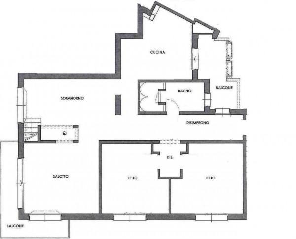 Appartamento in vendita a Cesena, Centro Città, 200 mq - Foto 3