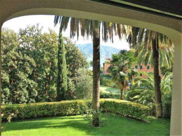 Villa in vendita a Santa Margherita Ligure, Mare Passeggiata, Arredato, con giardino, 170 mq