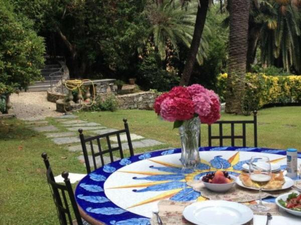 Villa in vendita a Santa Margherita Ligure, Mare Passeggiata, Arredato, con giardino, 170 mq - Foto 10