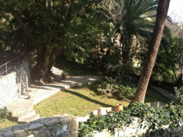 Villa in vendita a Santa Margherita Ligure, Mare Passeggiata, Arredato, con giardino, 170 mq - Foto 19