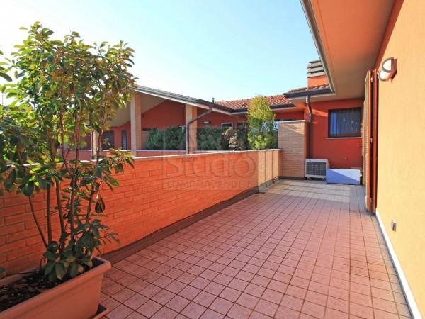 Appartamento in vendita a Cassano d'Adda, Con giardino, 136 mq - Foto 6