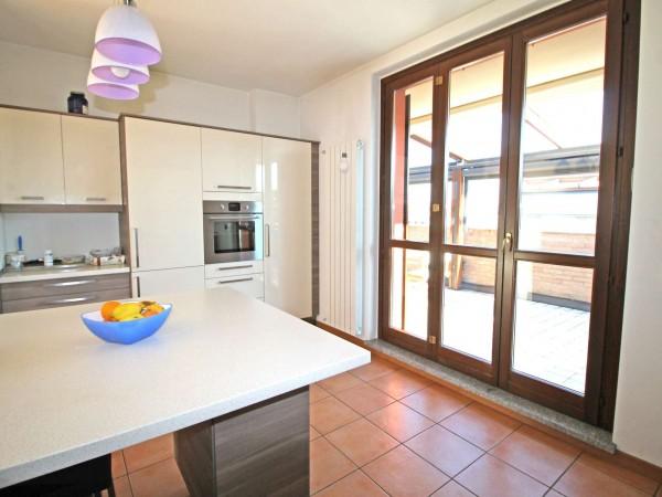 Appartamento in vendita a Cassano d'Adda, Con giardino, 136 mq - Foto 12