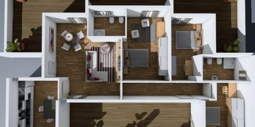 Appartamento in vendita a Brescia, Con giardino, 130 mq - Foto 2