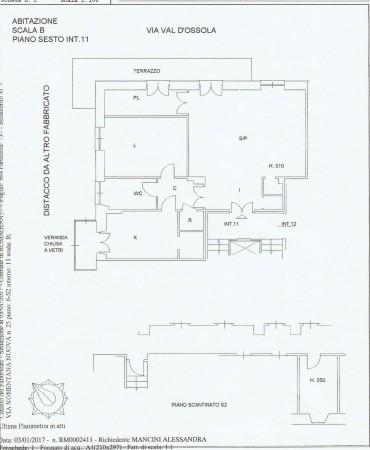 Appartamento in vendita a Roma, Nomentana, Con giardino, 95 mq - Foto 5