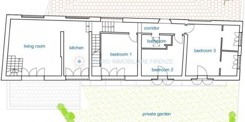 Rustico/Casale in vendita a Lastra a Signa, Con giardino, 175 mq - Foto 3