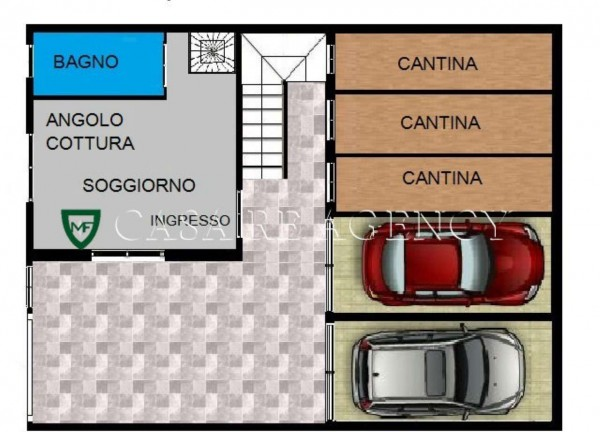 Rustico/Casale in vendita a Induno Olona, Centro, Con giardino, 210 mq - Foto 5
