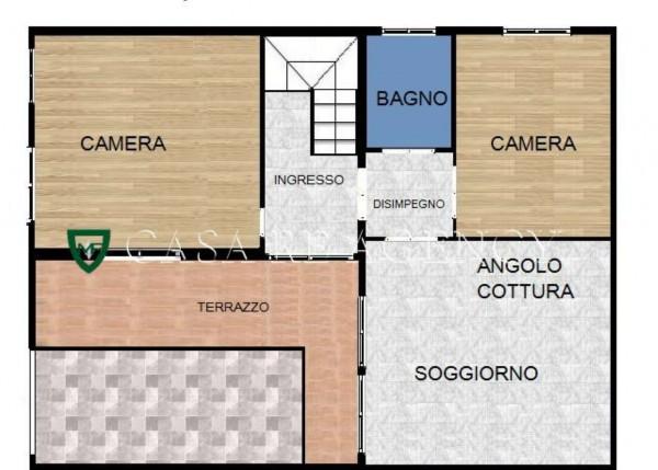 Rustico/Casale in vendita a Induno Olona, Centro, Con giardino, 210 mq - Foto 2