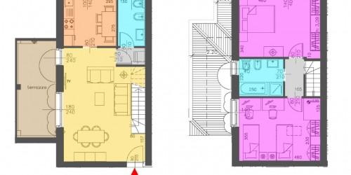Appartamento in vendita a Cassano d'Adda, 110 mq - Foto 3