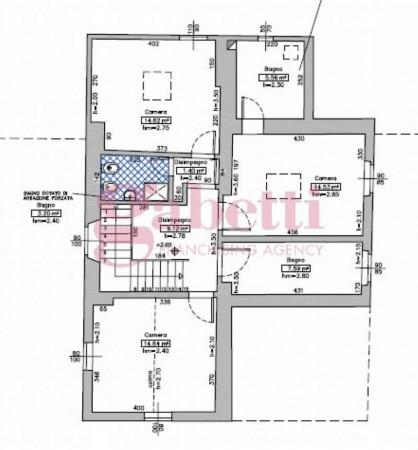Villa in vendita a Fiesole, Con giardino, 300 mq - Foto 6