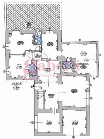Villa in vendita a Fiesole, Con giardino, 300 mq - Foto 3