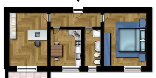 Appartamento in vendita a Cinisello Balsamo, 60 mq - Foto 2