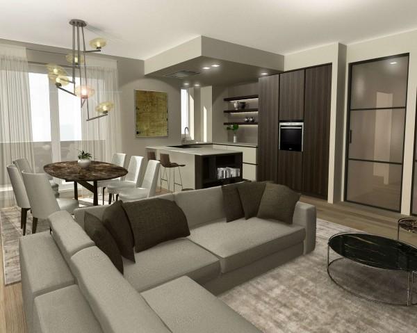 Appartamento in vendita a Milano, Dergano, 115 mq