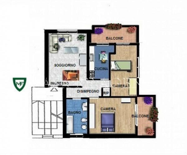 Appartamento in vendita a Induno Olona, Con giardino, 85 mq - Foto 2