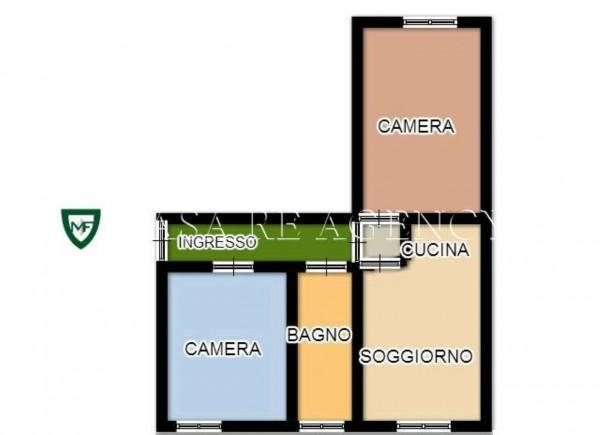 Appartamento in vendita a Varese, Ippodromo, Con giardino, 75 mq - Foto 2