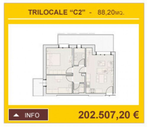 Appartamento in vendita a Arese, 88 mq - Foto 6