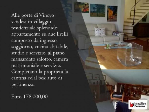 Appartamento in vendita a Vinovo, Lauri, Con giardino, 110 mq - Foto 2