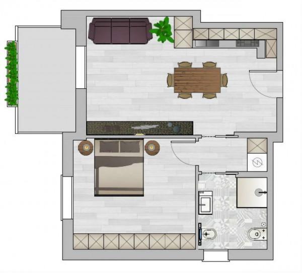 Appartamento in vendita a Padova, Brusegana, Con giardino, 70 mq - Foto 3