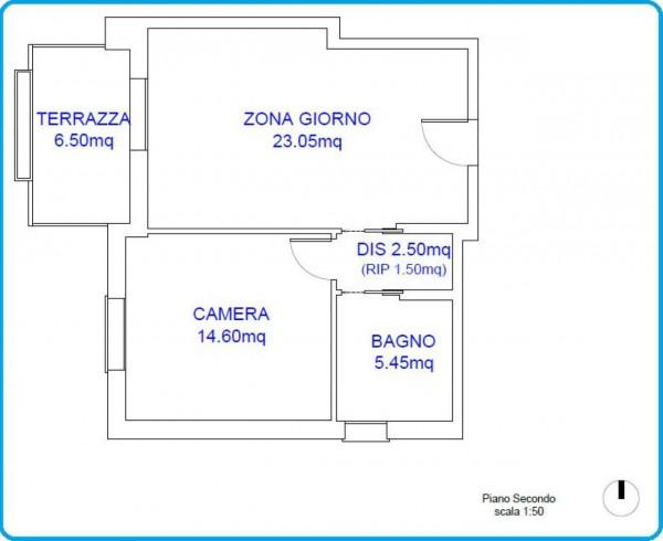 Appartamento in vendita a Padova, Brusegana, Con giardino, 70 mq - Foto 2