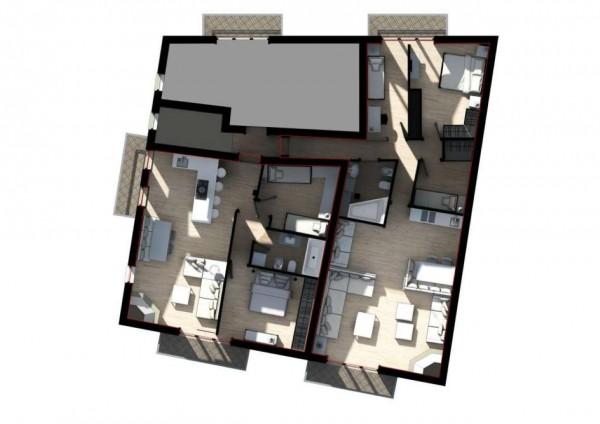 Appartamento in vendita a Ponte di Legno, Centro Del Paese, 97 mq - Foto 3