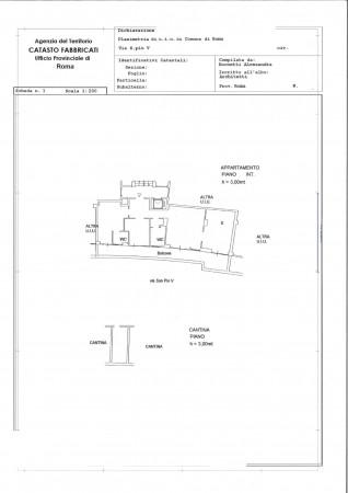 Appartamento in vendita a Roma, Gregorio Vii, 106 mq - Foto 2